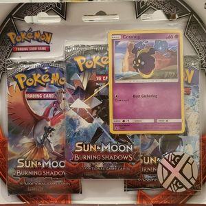 Pokemon Sun & Moon Burning Shadows 3pk